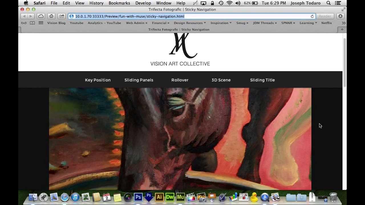 Adobe Muse Websites Adobe Muse cc Tutorial