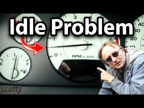How to Fix Engine Idle Problems (Rough Idle) - DIY with Scotty Kilmer