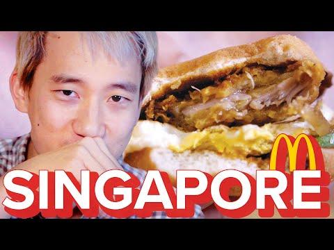 Americans Try Singapore McDonald's
