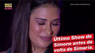 Ultimo show de Simaria Canta Niterói