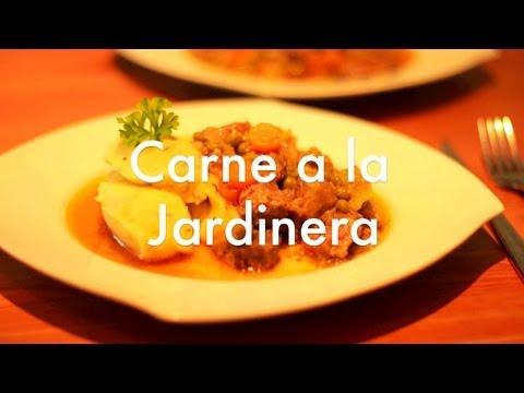Receta de carne a la jardinera - Recetas de cocina