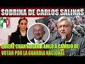 SOBRINA DE CARLOS SALINAS CHANTAJEA A AMLO PARA VOTAR POR LA GUARDIA NACIONAL