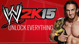 WWE 2K15 - How to Unlock Everything - All Unlockables! (Accelerator)