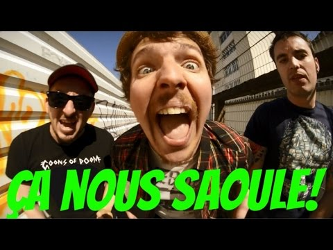 Les 3 Fromages - Ça Nous Saoule ! (Clip Officiel)