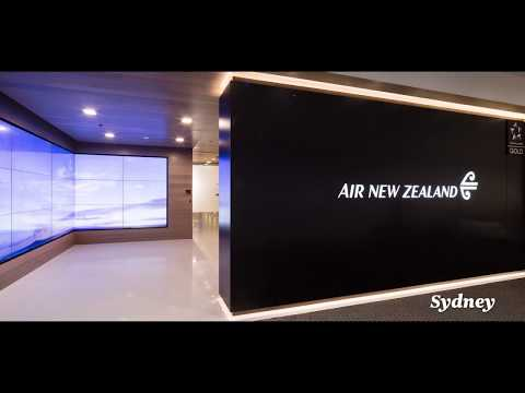 Experience Air New Zealand's Award-Winning Lounges