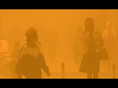 Sand-ageddon: China hit by worst sand storm in decade