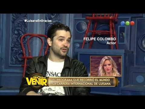 Felipe Colombo le habla a Luisana Lopilato - Gracias Por Venir
