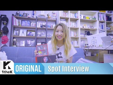 Spot Interview(좌표 인터뷰): Minzy(공민지)_NINANO(니나노)