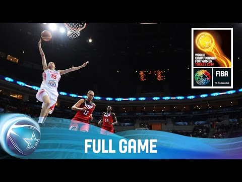Spain v USA - Full Game - Final - 2014 FIBA World Championship for Women