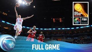 Spain v USA - Full Game - Final - 2014 FIBA World Championship for Women