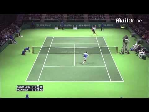 ABN AMRO highlights Wawrinka beats...