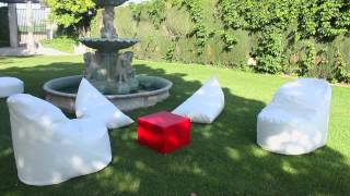 Muebles soft de Fiaka - Decoración Chill Out Exterior