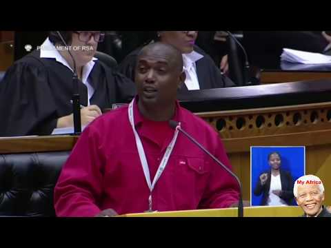 EFF - Throw Jacob Zuma In Dustbin Of History