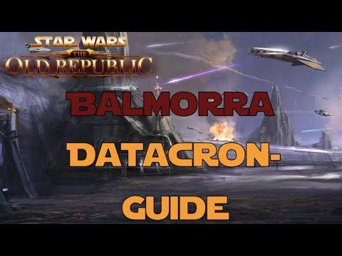 SWTOR Datacron Guide für Balmorra Imperium