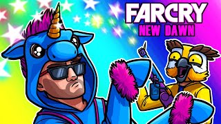 Far Cry: New Dawn Funny Moments - Unicorn Moo's Magic Flamethrower!