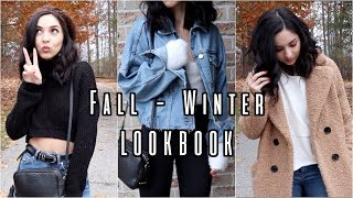 FALL to WINTER LOOKBOOK 2018 | 6 OUTFITS
