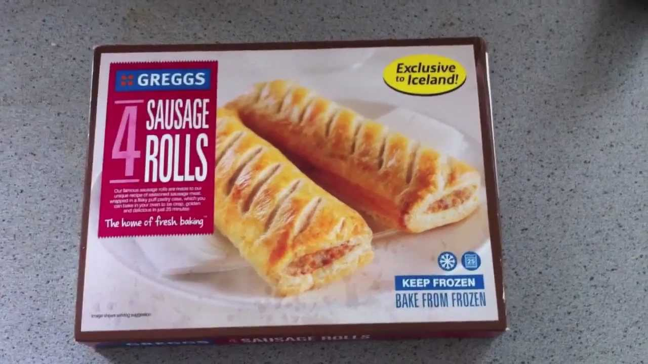 Greggs Sausage Rolls From Iceland Review Youtube