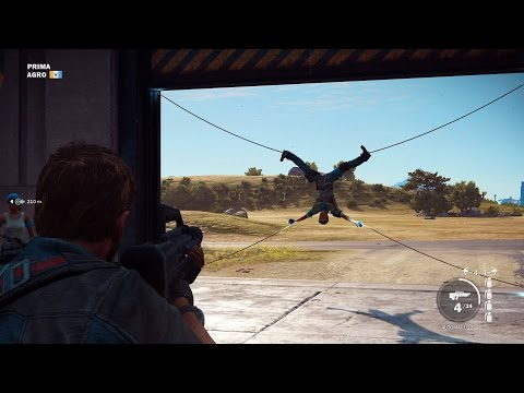 Just Cause 3 Random or Funny Moments