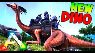 NUEVO DINO DE 3 PLAZAS !!! SUPER RAPIDO !! ARK SURVIVAL EVOLVED MODS Makigames