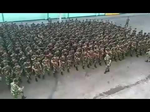 Yel yel TNI .. bikin merinding negara tetangga thumbnail