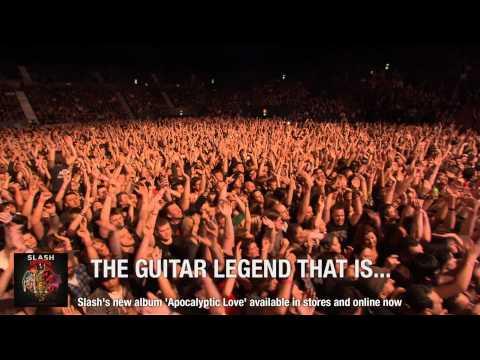 Moshcam Presents: Slash live in Sydney (trailer)