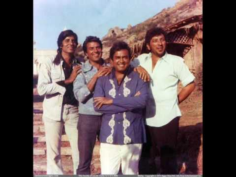 R D Burman - Sholay - Title Theme Music video