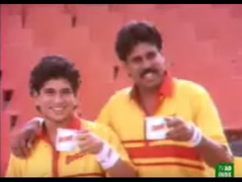 Old Memories - Sachin Tendulkar and Kapil Dev In 1989