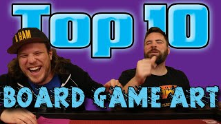 Top 10 Board Game Art!