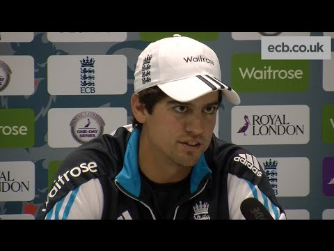 Captain Alastair Cook says buoyant England are ready for one-day series