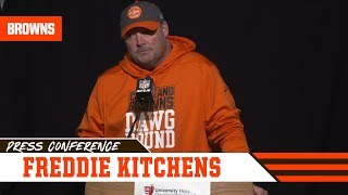 Freddie Kitchens Analyzes Week 17 Loss to Cincinnati | Cleveland Browns