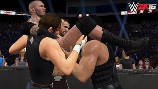 WWE 2K16-2K15 The Shield Top 5 Triple Powerbombs!