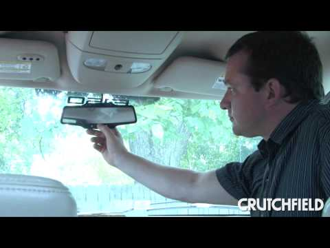 OnStar FMV Rear-View Mirror Review   Crutchfield Video