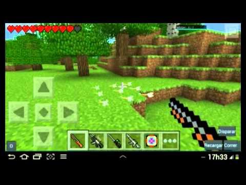 Minecraft Pocket Edition Mods Mod de armas