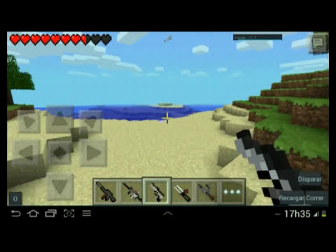 Minecraft Pocket Edition Mods - Mod de armas