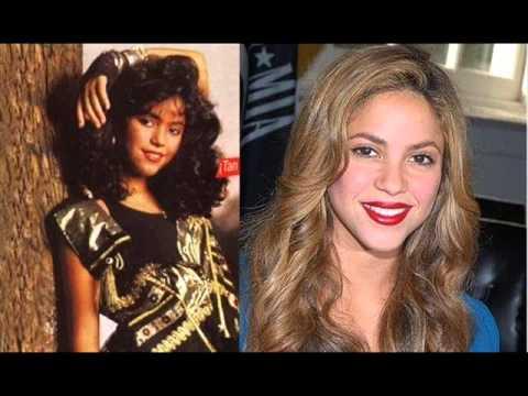 Antes y despues de famosos cantantes