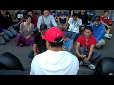 Yoga de la Risa con Prepa Si (oct 31, 2010)