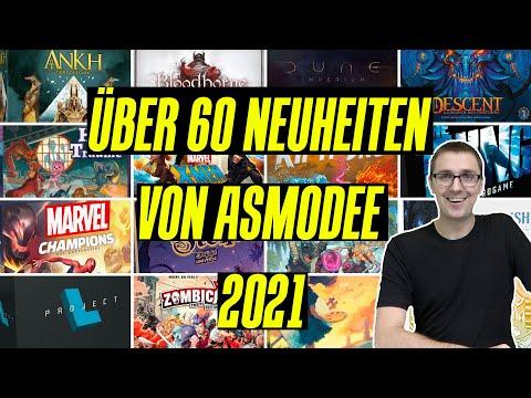 Asmodee Neuheiten 2021 - Über 60 neue Spiele! Eine Auswahl.