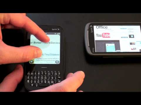 Palm Pixi vs. HTC Hero: Sprint Showdown