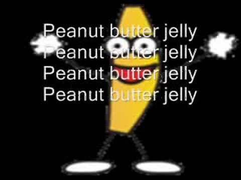 Its Peanut Butter Jelly Time with Lyrics!!!