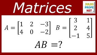 Multiplicacin de Matrices