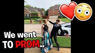 LANDON TAKES FAN TO PROM!!!