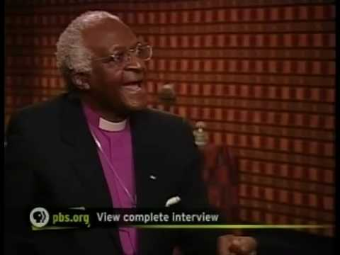 Apartheid, Perpetrators, Forgiveness: Desmond Tutu's views