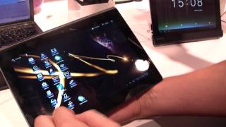 Sony Tablet S Hands On at IFA 2011