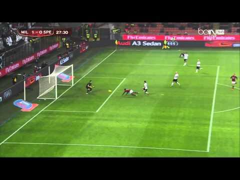 Robinho Goal against Spezia
