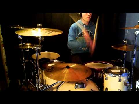 The Hamsterdance Drum Cover video