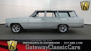 1967 Chevrolet Nova Wagon #615-ndy Gateway Classic Cars - Indianapolis