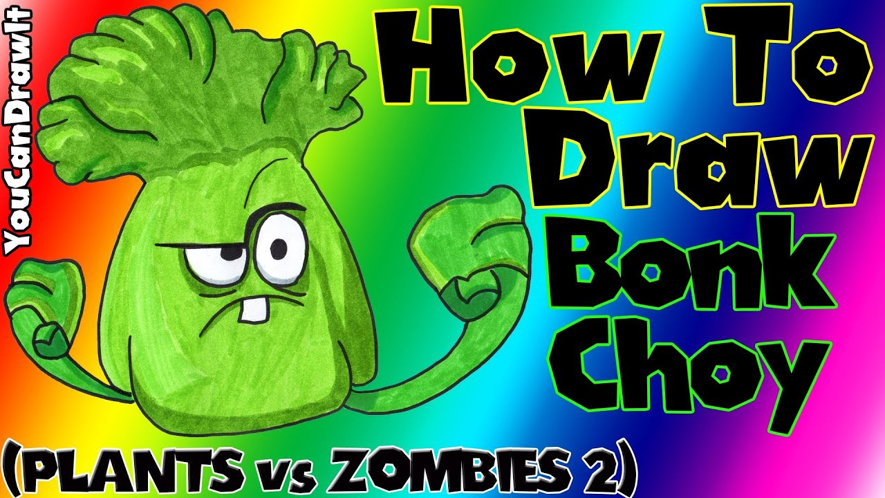 how to draw zombie from plants vs zombies 2