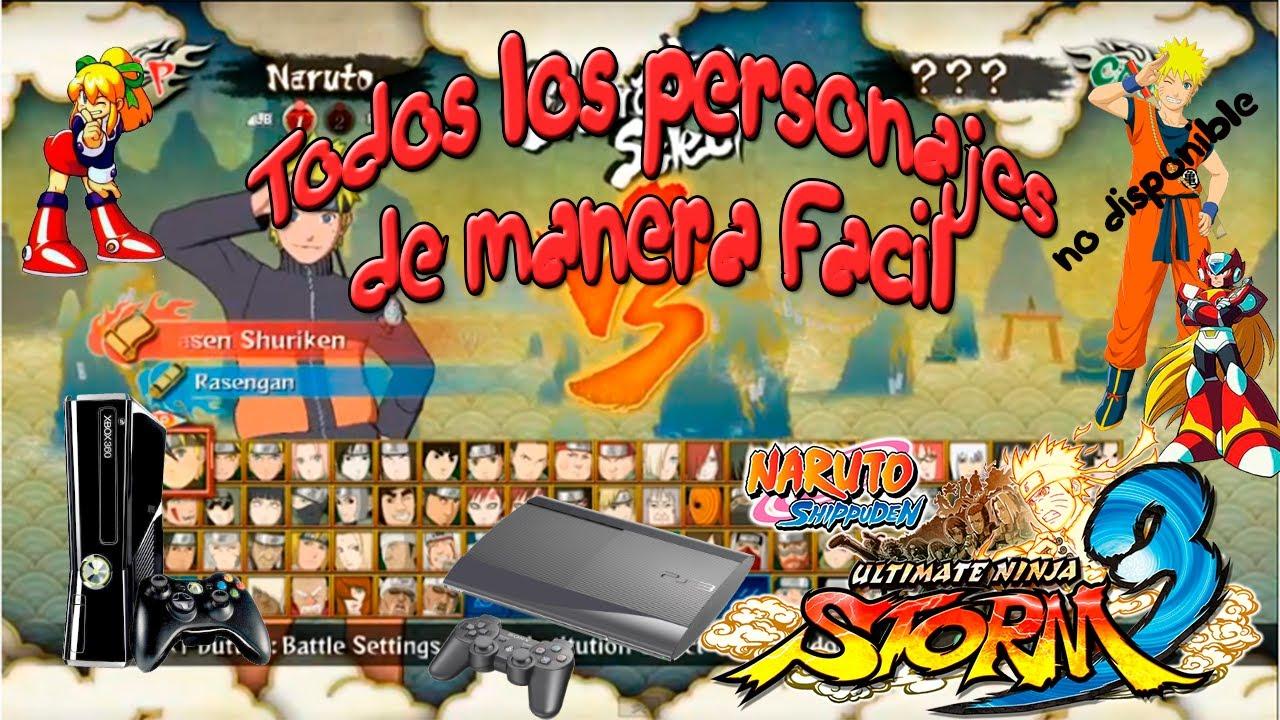 Naruto Shippuden Ultimate Ninja Storm 3 Tener todos los ...