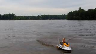 Barbie On A Jet Ski Double Horse 7003A First Run