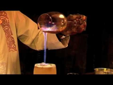 "Cocktail recipe: How to make a ""Flaming Mai Tai"""